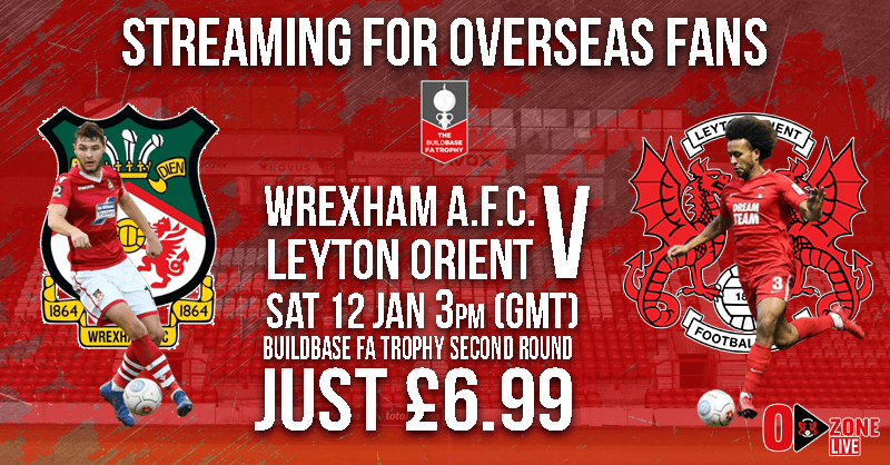 Watch Leyton Orient LIVE this Saturday
