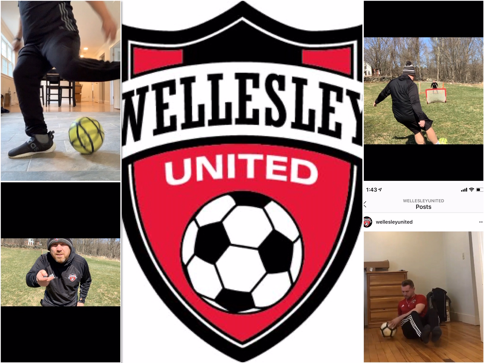 Wellesley United at home